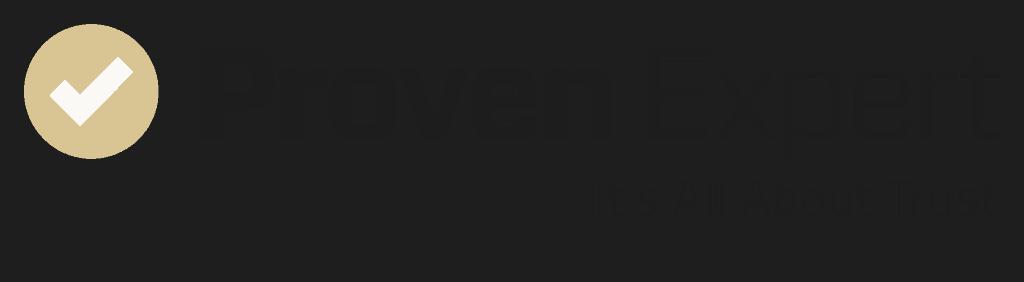 provenexpert logo with claim