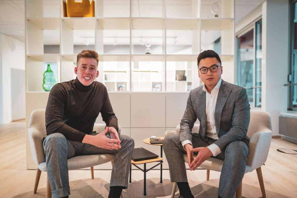 Norbert Nagy und Viet Pham Tuan - Geschäftsführer der SocialNatives Personalmarketing-Agentur für Social Recruiting